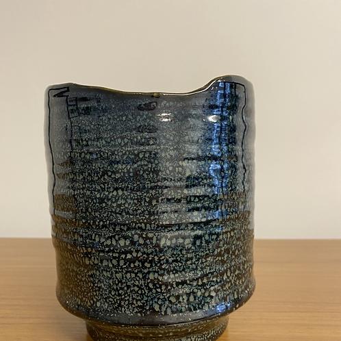 Medium Ceramic Planter - Dark Blue