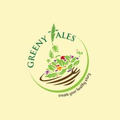 Greeny Tales : Logo Design