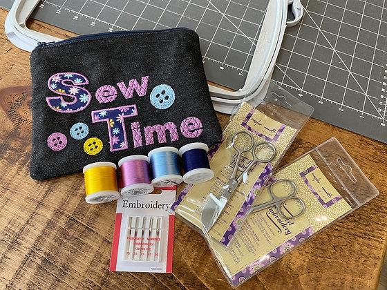 Jade 35 Embroidery Machine Class 1 - Saturday 24 April 2021 14:00