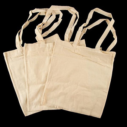Calico Tote Bags - Pack of 3