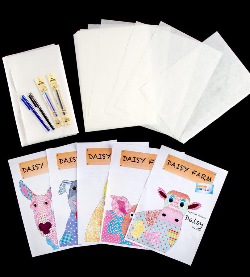 Applique Patterns - Daisy Farm