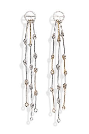 Linked Wire Earrings