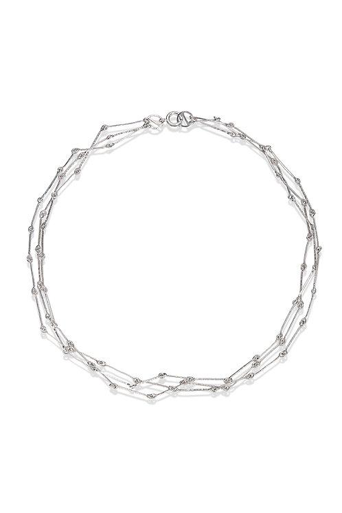 Silver Machair Necklace