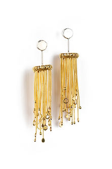 Gold Earrings Iona Hall