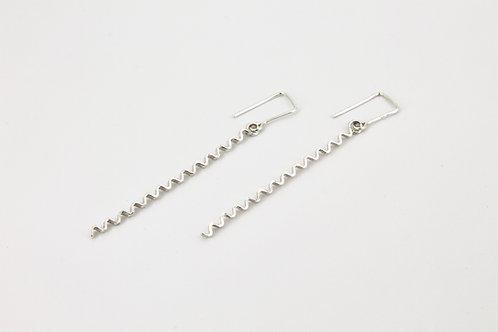 Long Ripples Earrings
