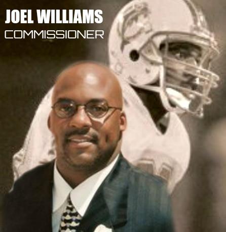 Developmental Football International Commissioner Joel Williams