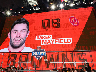 Browns Take Mayfield No. 1 Overall