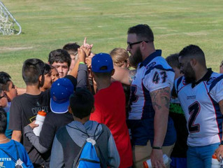 AT RAE OF HOPE BOYS RETREAT, COYOTES DROP FAITH, FAMILY AND FOOTBALLS – LITERALLY