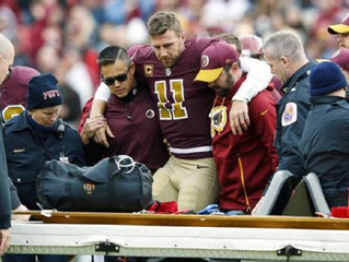Redskins QB Alex Smith out of hospital after surgeries, infection