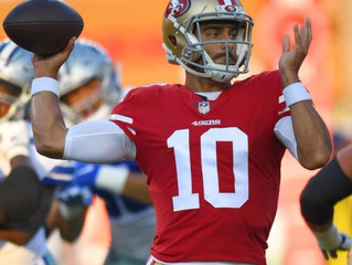 FMIA: Smile, Jimmy! Garoppolo in Picture Perfect Situation As a QB