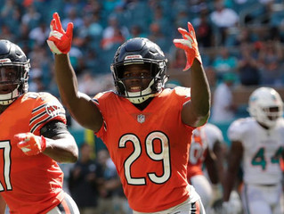 Share Bear: Bears RB Tarik Cohen connecting with Chicago youth in inspiring ways