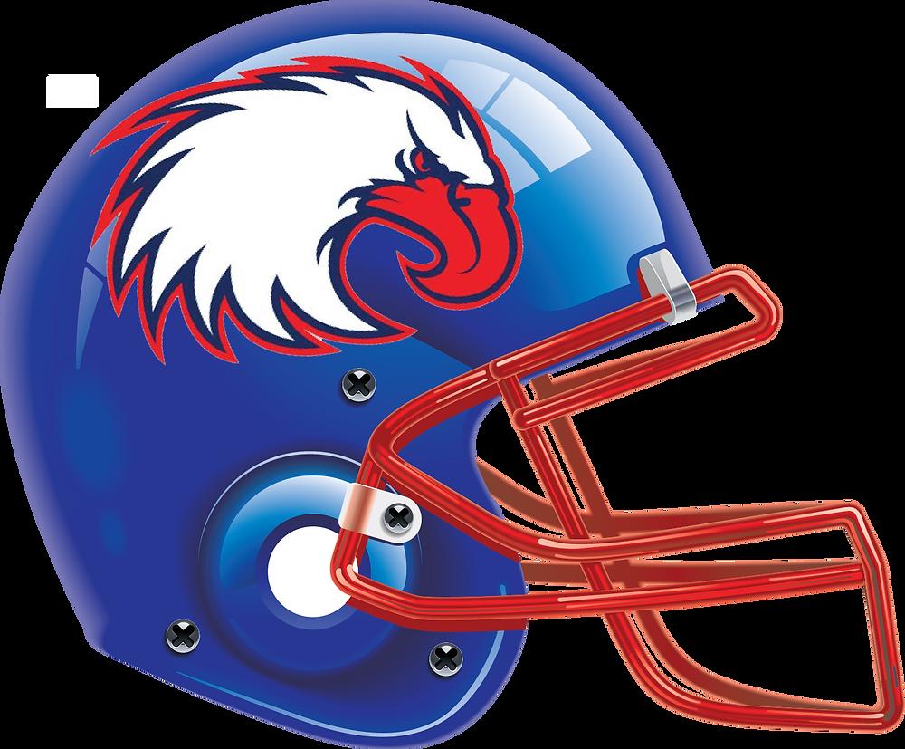 Developmental Football International Philadelphia Freedom Helmet