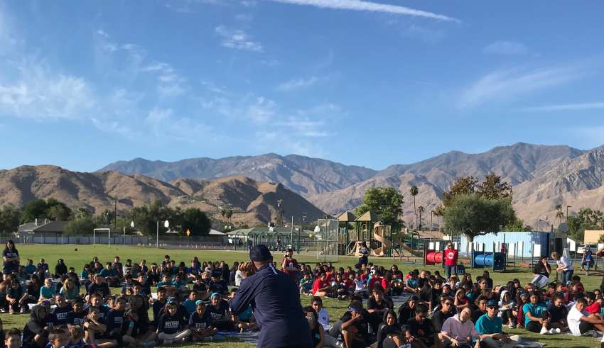 Developmental Football SoCal Coyotes Above the Line