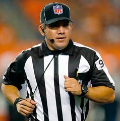 NFL fires down judge Hugo Cruz, effective immediately