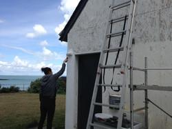 Travaux de peinture face mer