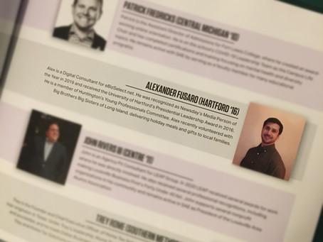 Digital Consultant Alex Fusaro placed on 20 Under 40 List
