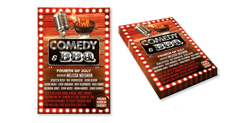 Comedy Show Flyer - Mock Up transparnt.p