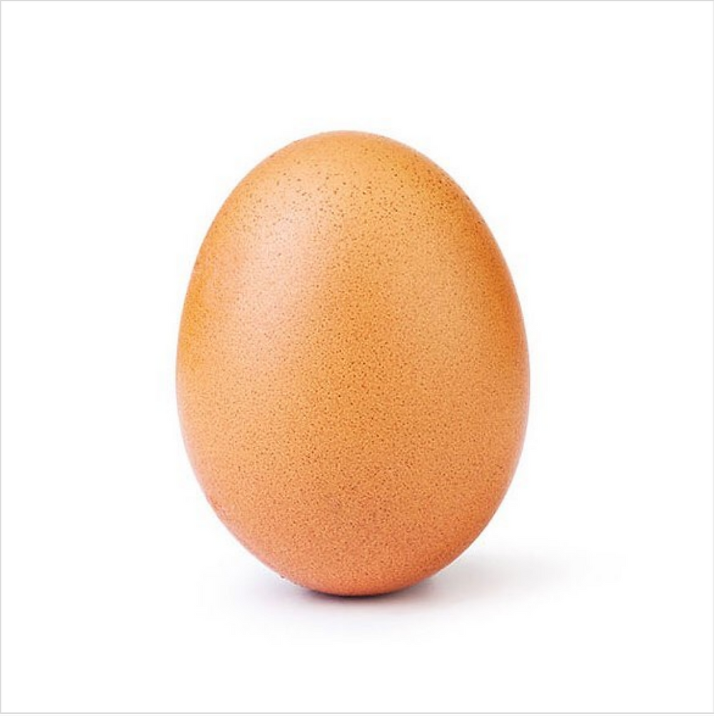 most liked egg, most popular egg instagram, most liked egg account, egg with most instagram likes, egg gets more likes than kylie, egg get more likes, egg gets more likes than kylie jenner
