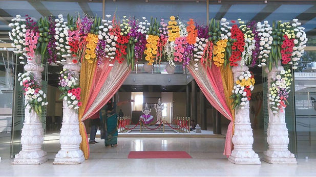 Wedding hall entrance ecorations.jpeg