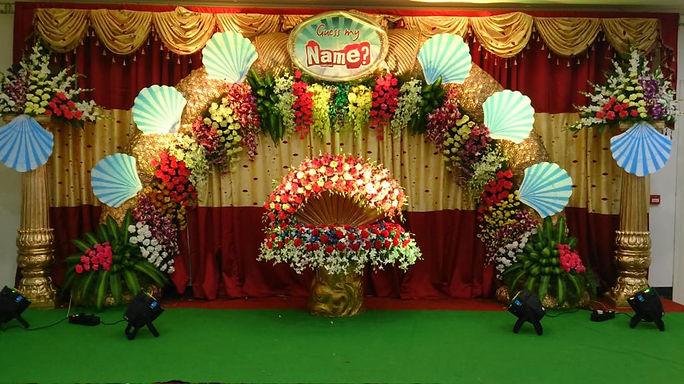 Naming ceremony flower decorations.jpeg