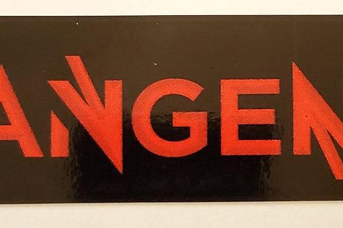 TangenT Sticker - Black