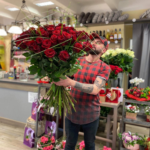 Vázané kytice 11