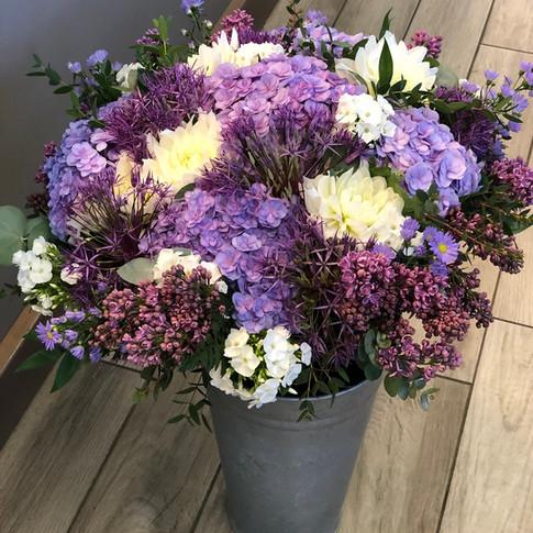 Vázané kytice 26