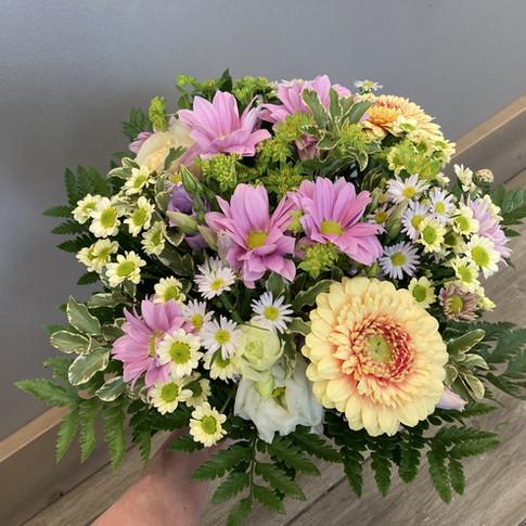 Vázané kytice 43