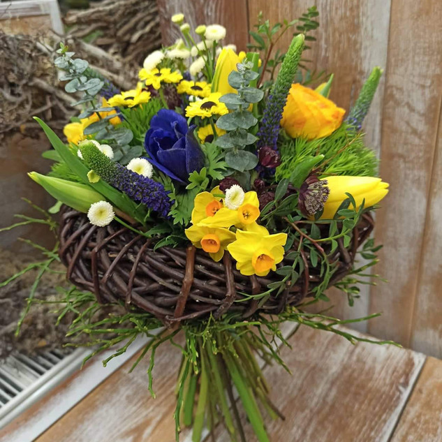 Vázané kytice 21
