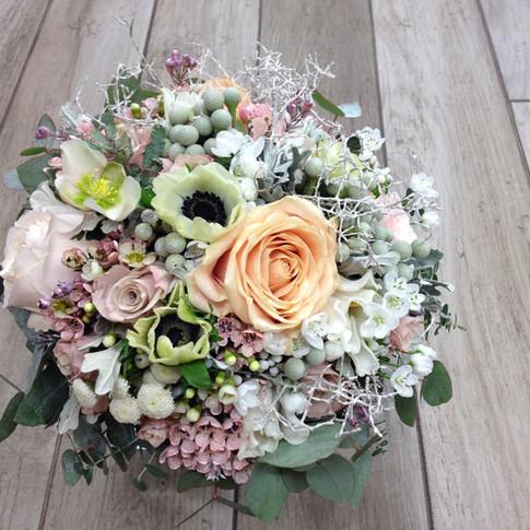 Vázané kytice 27