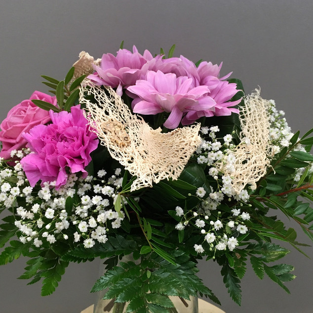 Vázané kytice 29