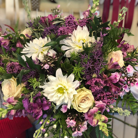 Vázané kytice 25