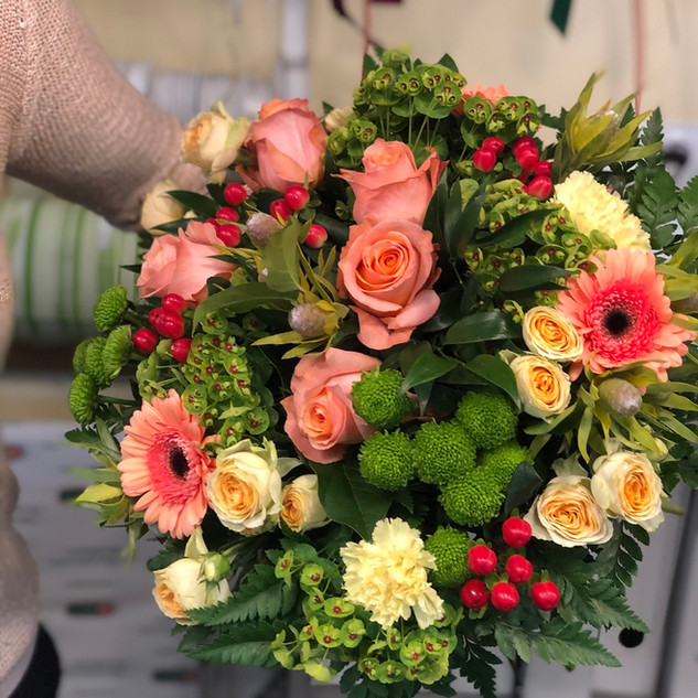 Vázané kytice 13