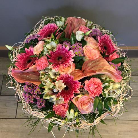 Vázané kytice 31