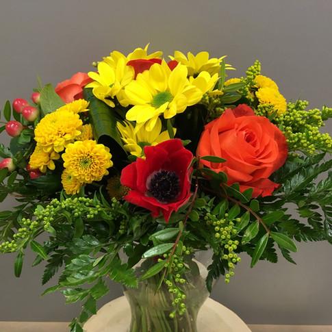 Vázané kytice 32