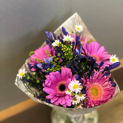 Vázané kytice 5