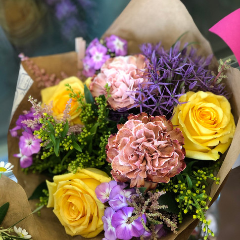 Vázané kytice 2