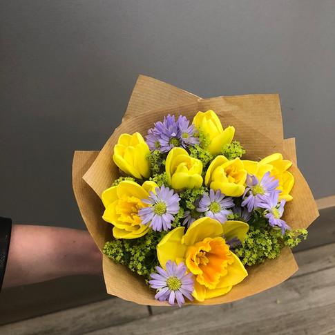 Vázané kytice 8