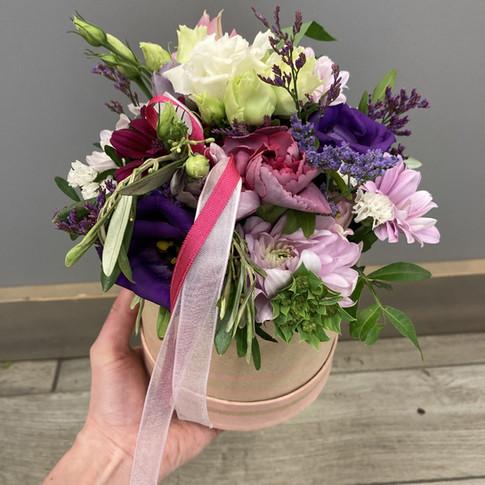 Vázané kytice 36