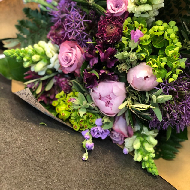 Vázané kytice 22