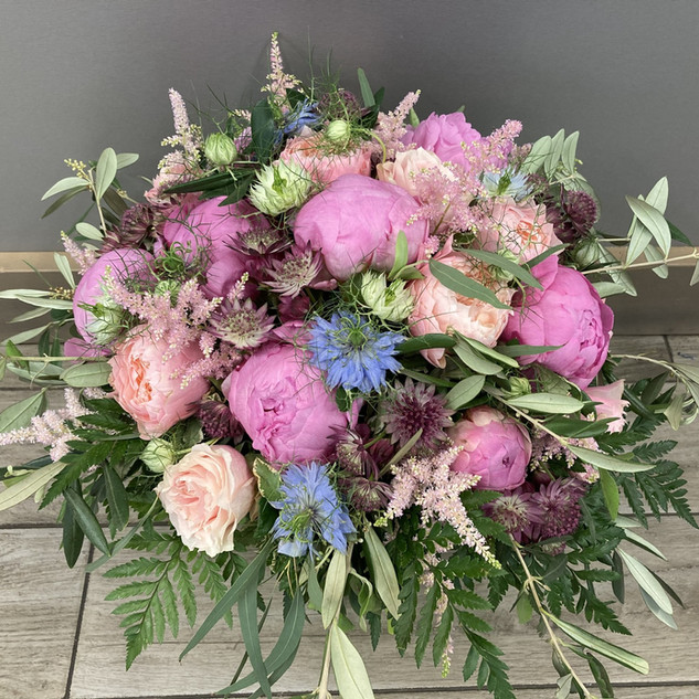 Vázané kytice 34
