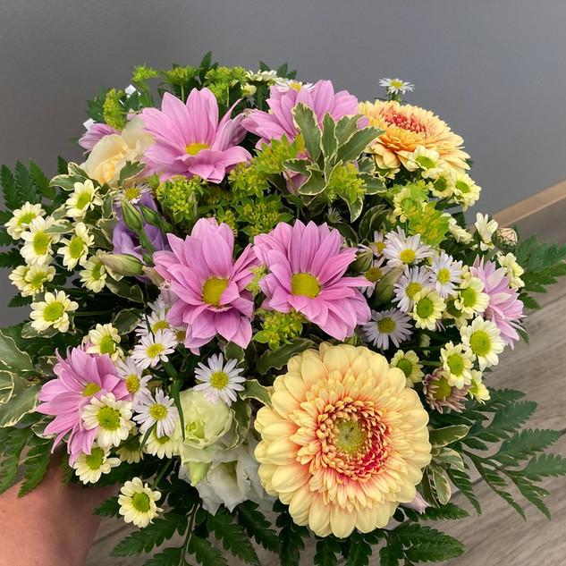 Vázané kytice 4