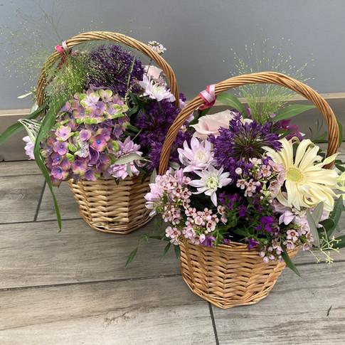 Vázané kytice 37