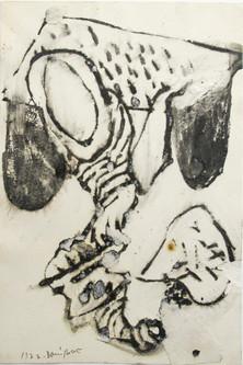 Autor: Bonifacio Título: Sin título Año: 1922 Técnica mixta sobre papel Tamaño: 17 x 25 cm