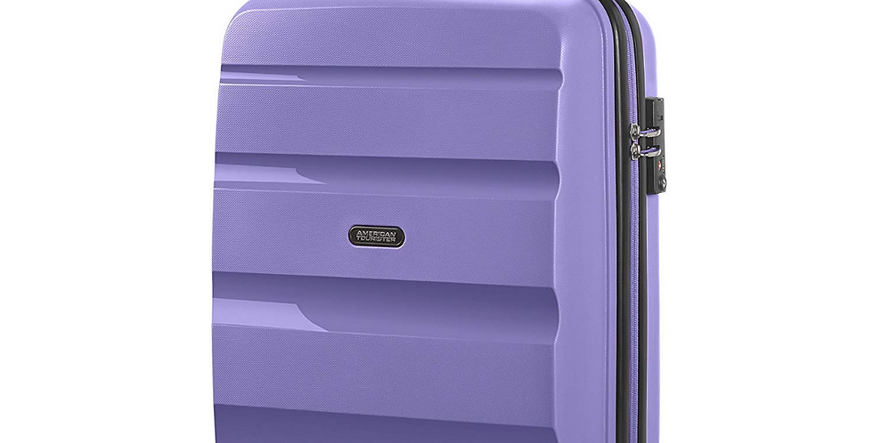 American Tourister Bon Air - Spinner 55cm - Hand Luggage Cabin Case - Lavender
