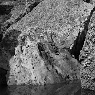 Rocas. Playa de La Ñora, Villaviciosa. 1984