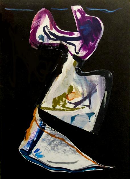 Autor: Bonifacio Título: Sin título Técnica mixta sobre papel Tamaño: 21 x 29 cm