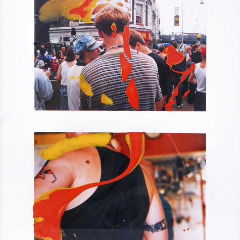 Documentos básicos (1957 - 2000) 1997 36 x 49 cm Fotografía sobre tela intervenida con barniz y óleo 2.800 €