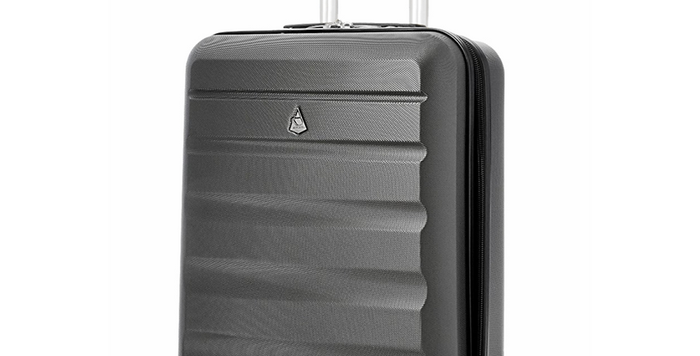 Aerolite | Lightweight Charcoal Travel Hand Luggage | 55x40x20cm