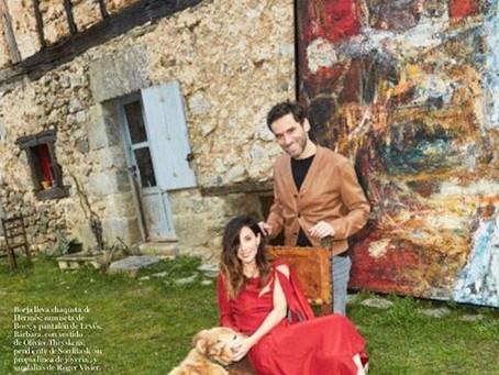 Las obras de Goenaga en la revista Vogue